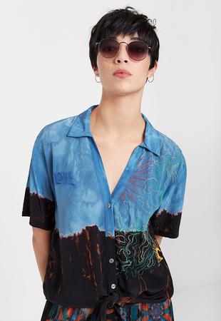 Desigual Bluza kratek rokav