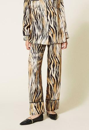 Twin Set Pižama spodnji del dolge hlače