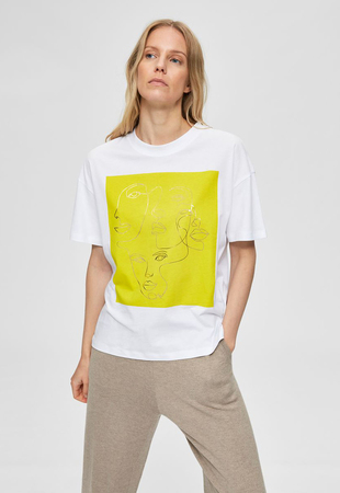 Selected Majica kratek rokav