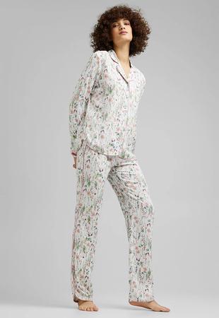 Esprit Pižama dolg rokav