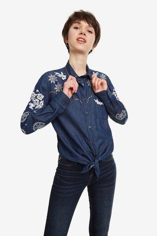 Desigual Bluza dolg rokav